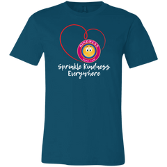 Unisex Jersey Short-Sleeve T-Shirt - Sprinkle Kindness Everywhere