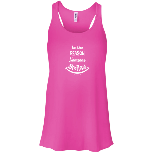 Be The Reason Someone Smiles Racerback Tank