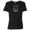 This Girl Is Happy WB Ladies' Relaxed Short-Sleeve T-Shirt