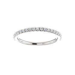 The Viva Moissanite/ Moissanite Matching Band