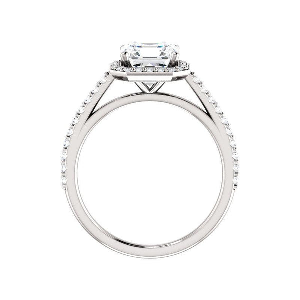 The Viva Moissanite/ Moissanite Asscher