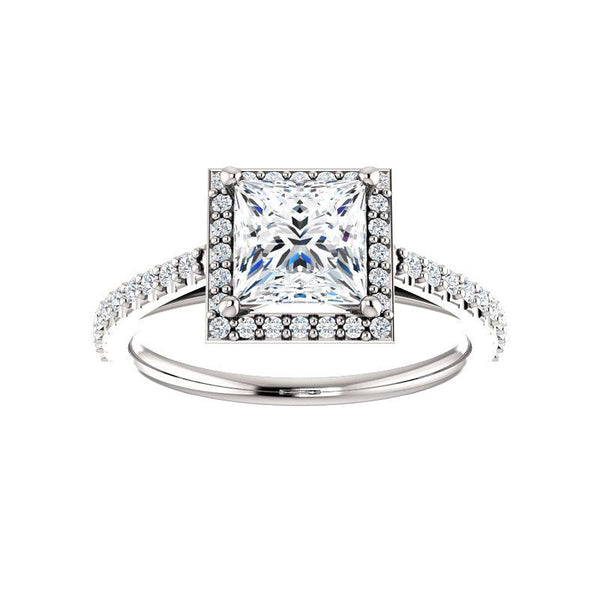 The Viva Moissanite Princess