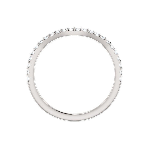 The Viva II Moissanite Band