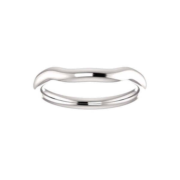 The Meghan Design Wedding Ring In White Gold