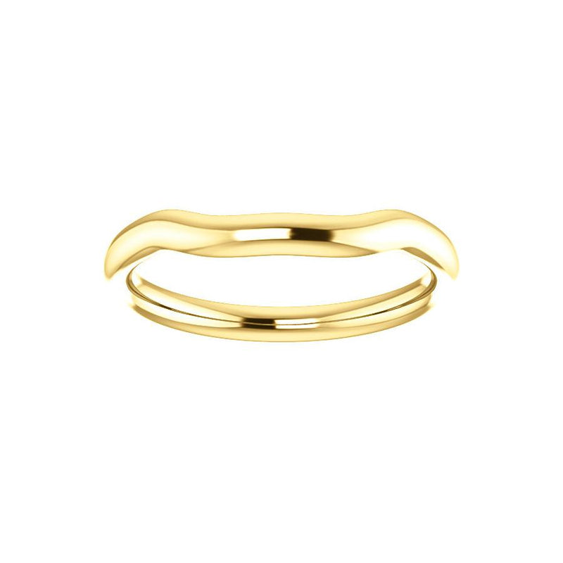 The Meghan Design Wedding Ring In Yellow Gold