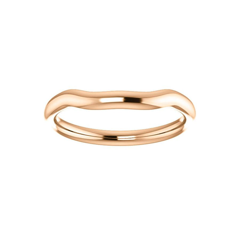 The Meghan Design Wedding Ring In Rose Gold