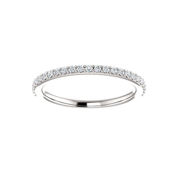 Kathe Diamond wedding ring in white gold