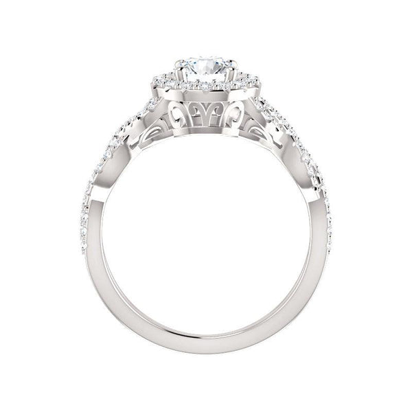 The Arlene Moissanite Round