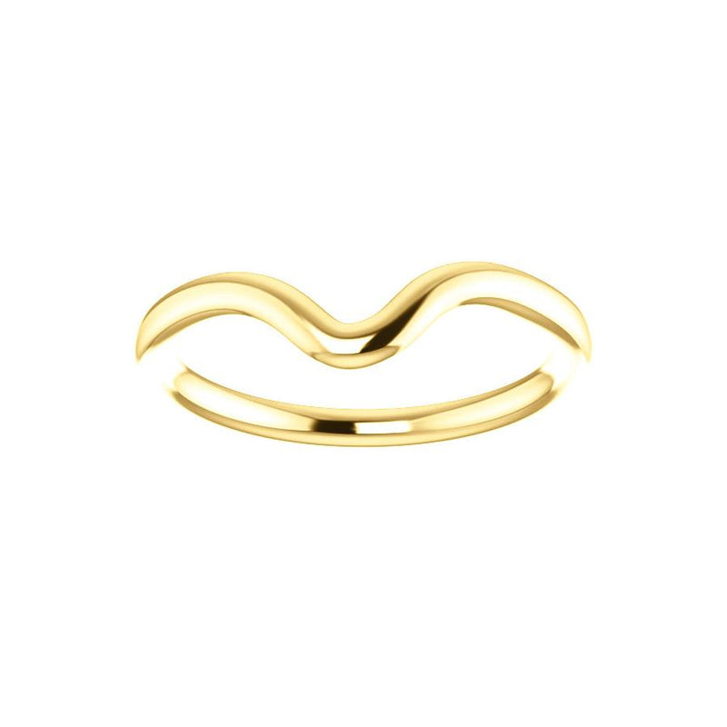 The Interlace Design Wedding Ring In Yellow Gold