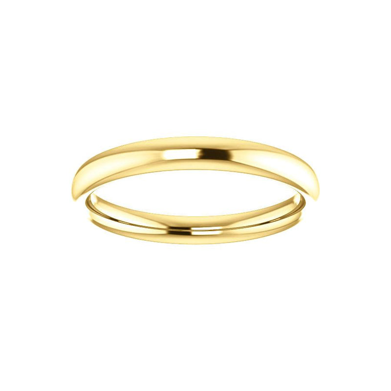 The Debra Band Rope Design Wedding Ring In Yellow Gold