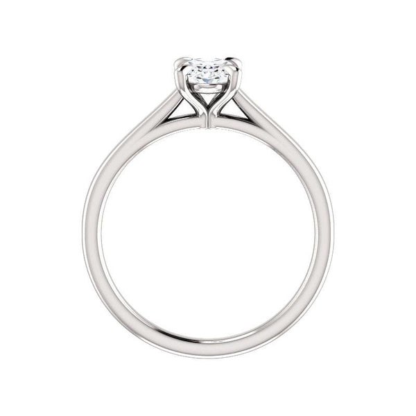 The Jane Moissanite Oval