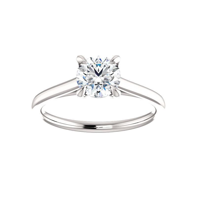 The Jane Moissanite Round
