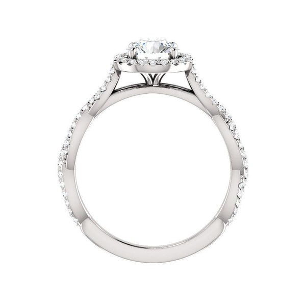 The Margie Moissanite Round