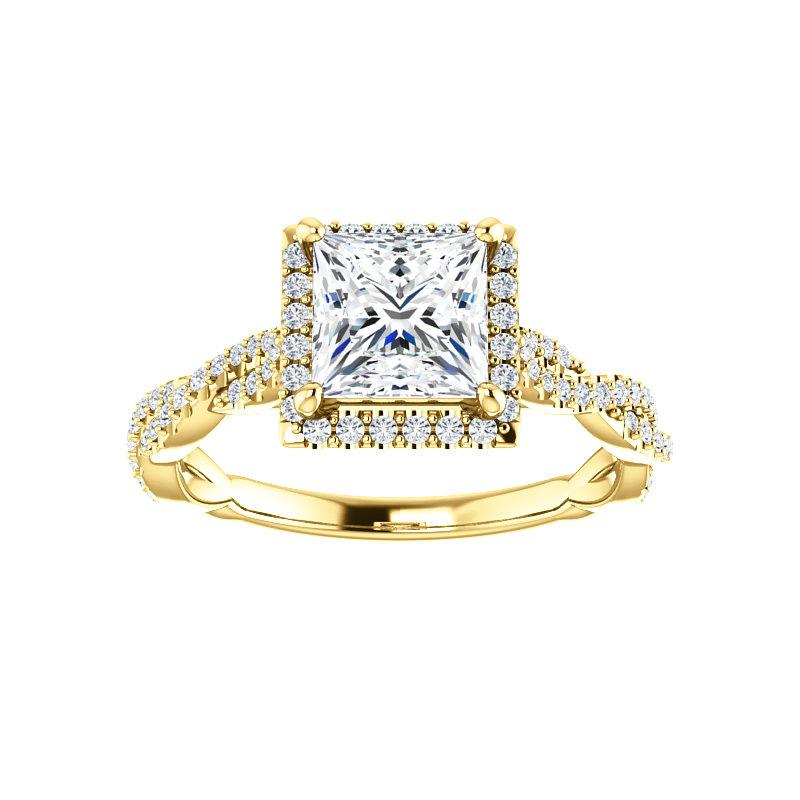 The Margie Moissanite Princess