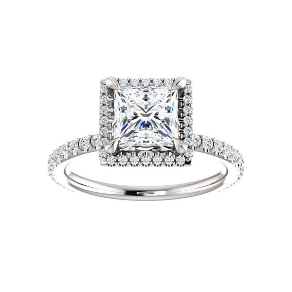 The Ada Moissanite Princess