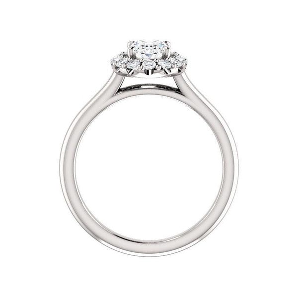 The Janie Moissanite/ Moissanite Oval