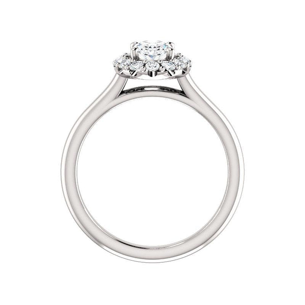 The Janie Moissanite Oval