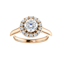 The Janie Moissanite Round