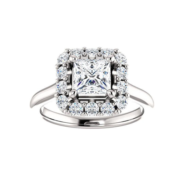 The Janie Moissanite Princess