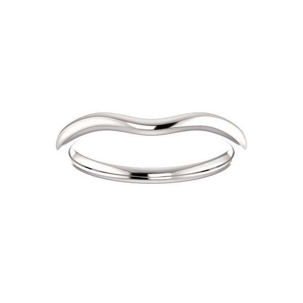 The Kelsea Design Wedding Ring In White Gold