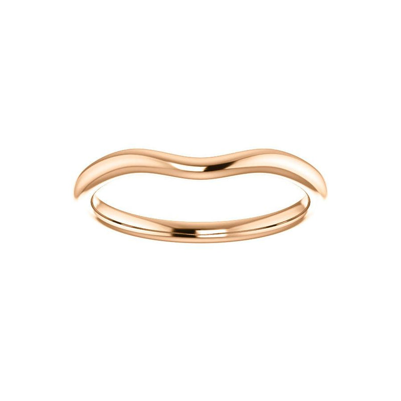The Kelsea Design Wedding Ring In Rose Gold