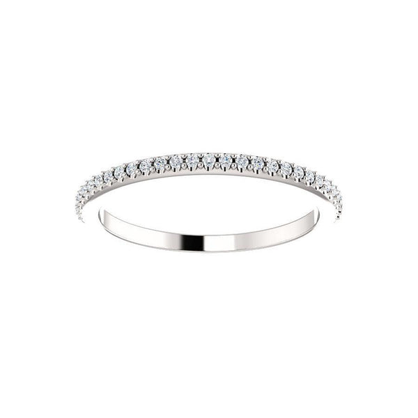 The Lillia Moissanite Band