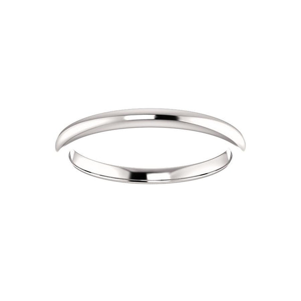The Julie Design Wedding Ring In White Gold