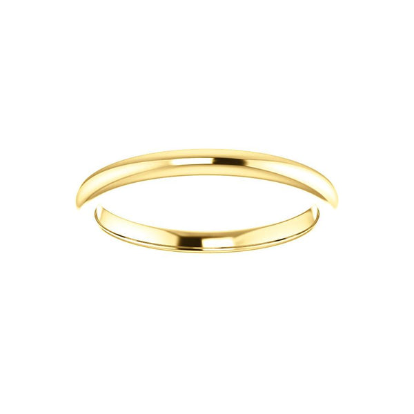 The Julie Design Wedding Ring In Yellow Gold