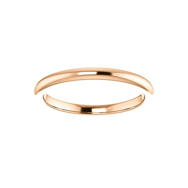 The Julie Design Wedding Ring In Rose Gold