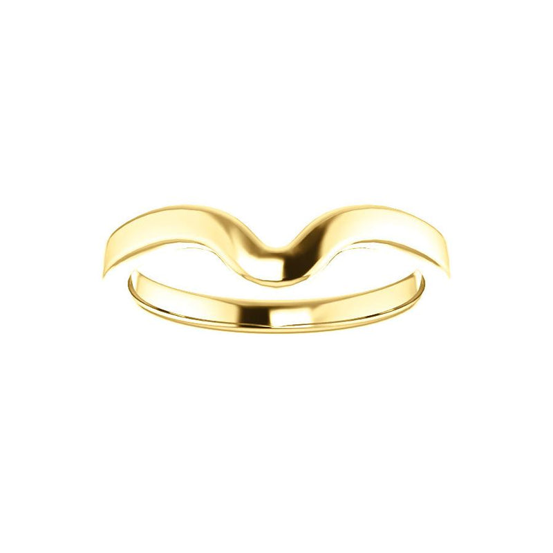 The Jamie Design Wedding Ring In Yellow Gold