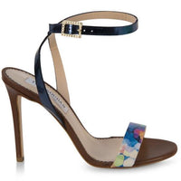 Multicolored strappy sandals