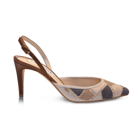 Roslyn Slingback- Beige, Shoes - Tori Soudan Collection