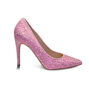 Shirley -  Laser Pink, Shoes - Tori Soudan Collection