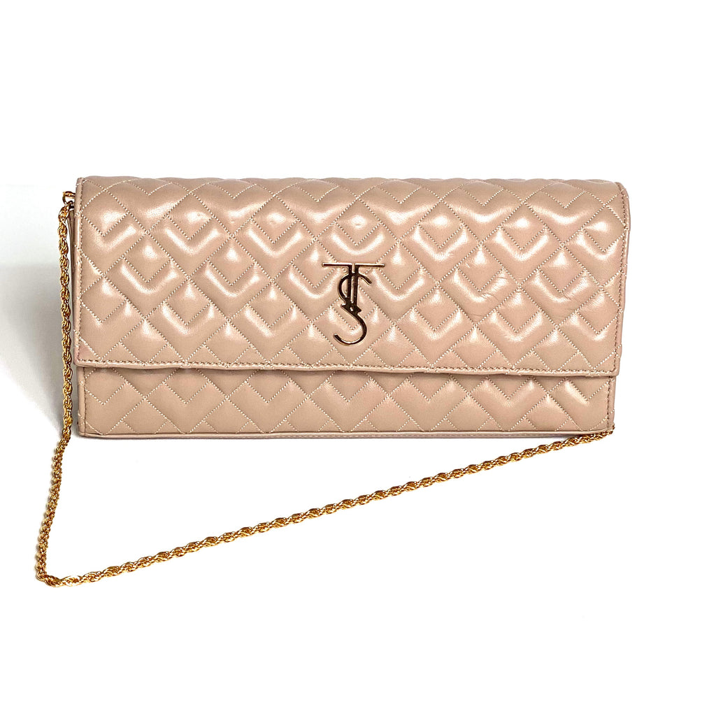 Madison Clutch-Warm Taupe