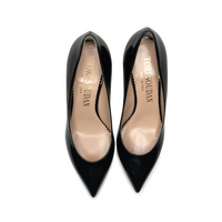 Shirley Kitten Heel-Black Patent, Shoes - Tori Soudan Collection