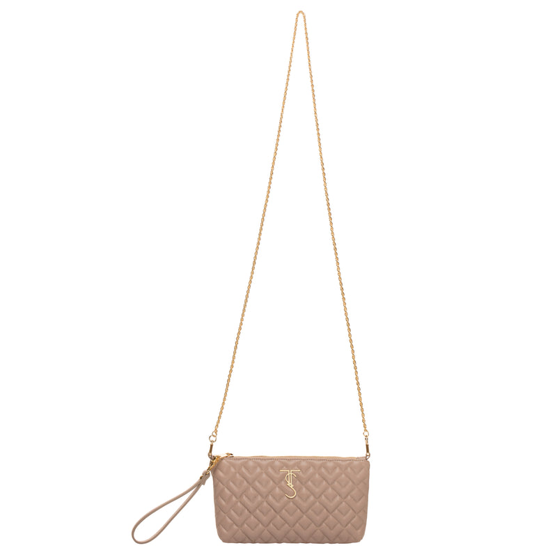 Madison Crossbody/Wristlet-Warm Taupe (preorder)