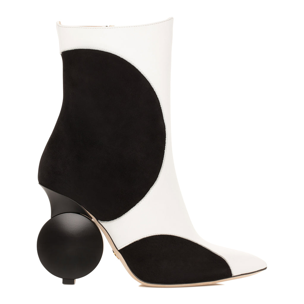 Julee Boot - Black and White