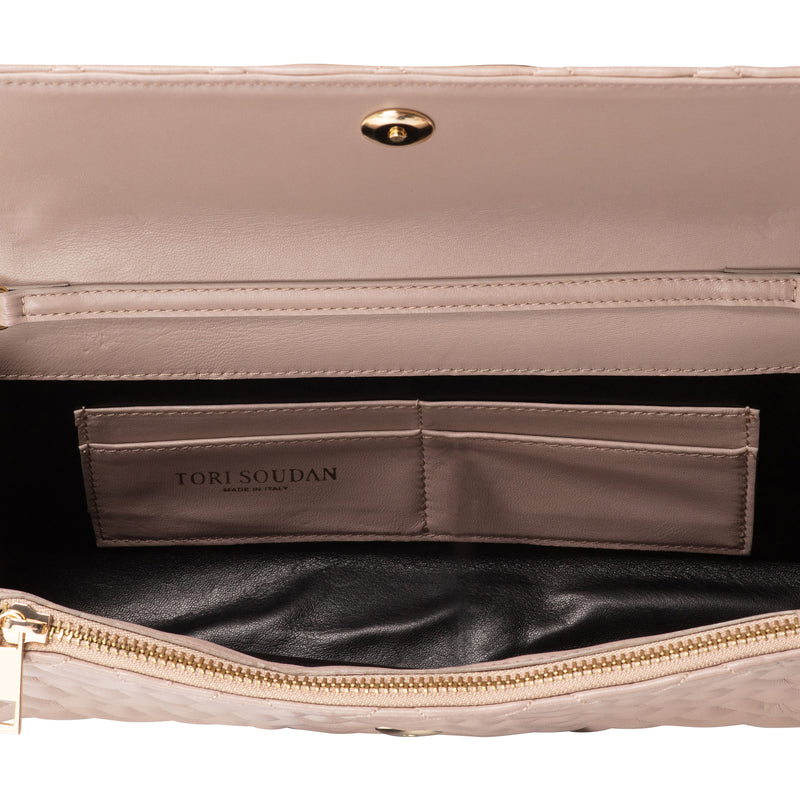 Madison Clutch-Warm Taupe (preorder)