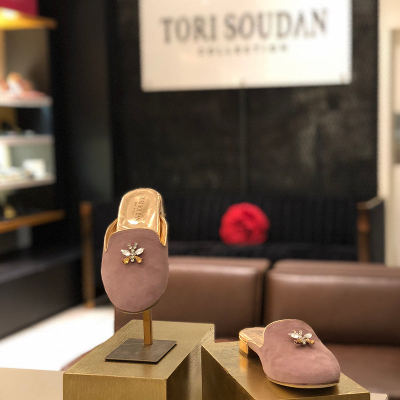 Colette - Mauve, Shoes - Tori Soudan Collection