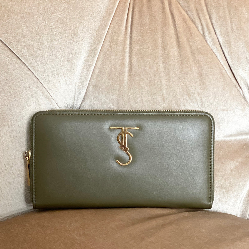 Montaigne Wallet - Army Green