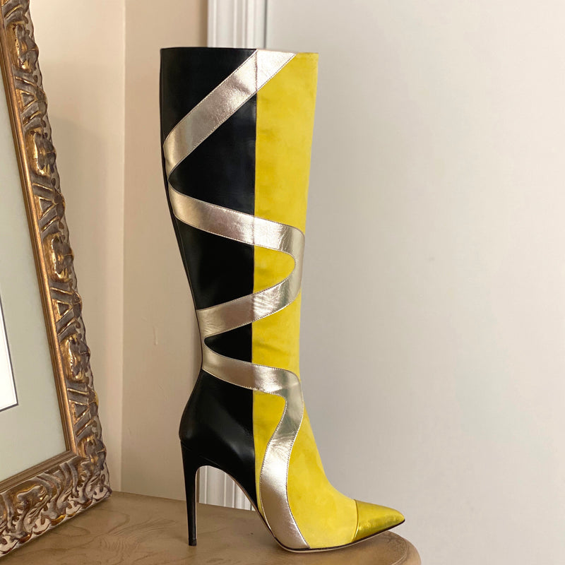 Adia Boot- Yellow