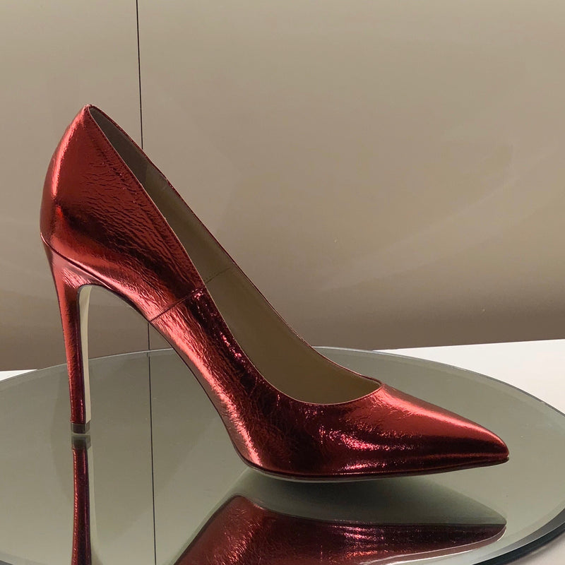Shirley - Ferrari Red, Shoes - Tori Soudan Collection