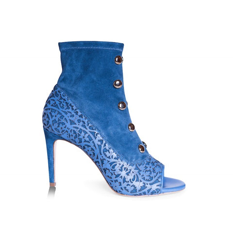 Menia- Blue, Shoes - Tori Soudan Collection