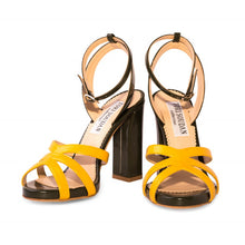 Kimberly -Green & Yellow, Shoes - Tori Soudan Collection