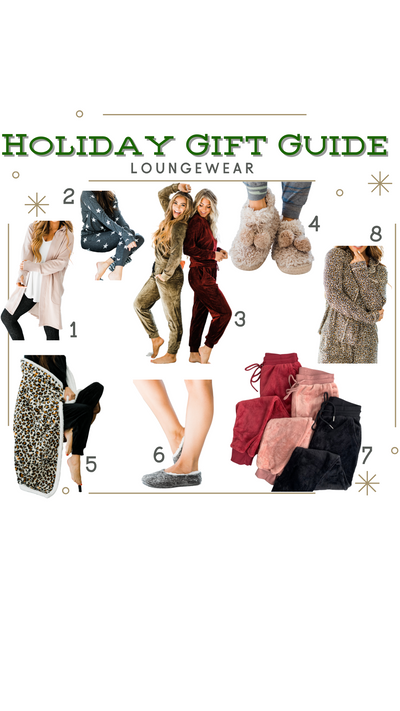 Holiday Gift Guide - Loungewear