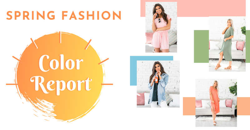 Spring Fashion - COLOR REPORT