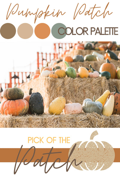Pumpkin Patch Color Palette + How To Style Your Hair With a Fall Hat