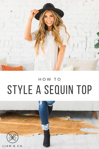 How To Style A Sequin Top