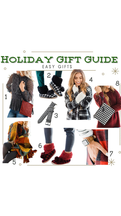 Holiday Gift Guide - Easy Gifts