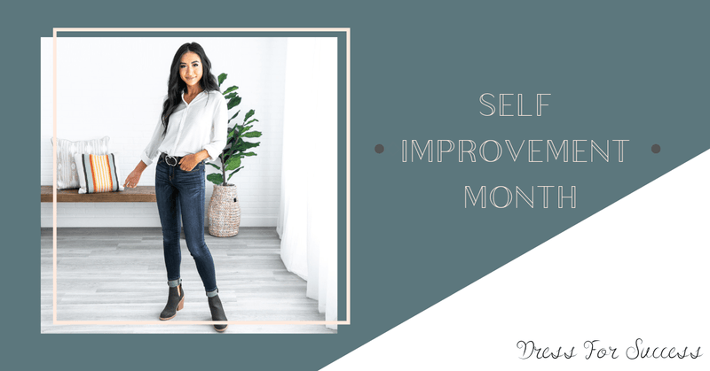 Dress For Success - Celebrating Self Improvement Month